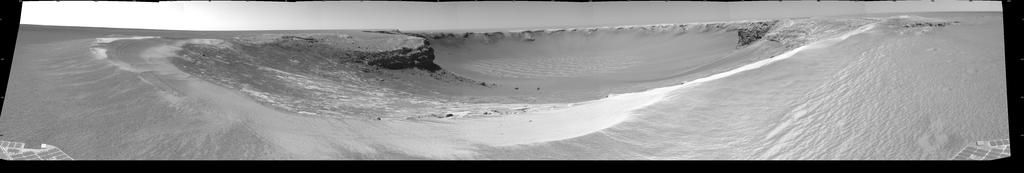 Mars: Cratère Victoria